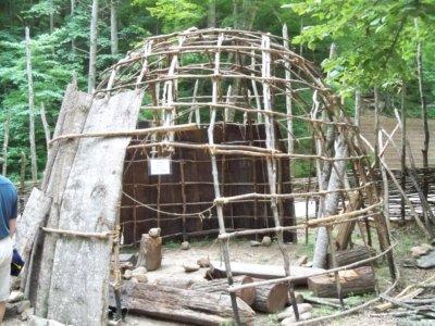 Native American Village At Natural Bridge Va